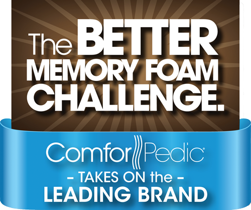 Simmons Comforpedic The Better Memory Foam