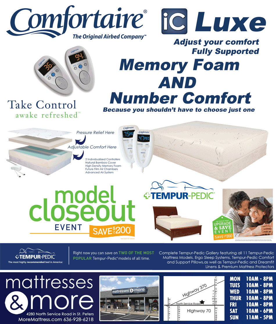 Mattresses Mattress Tempur Weightless Supreme By Tempur